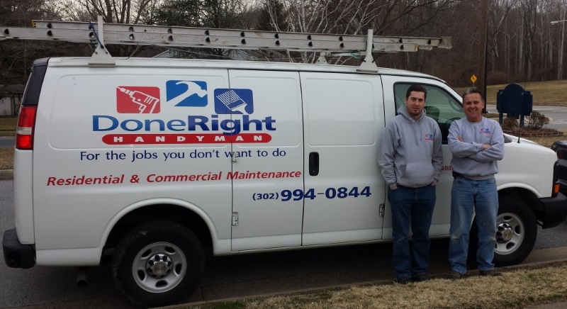 Handyman projects in Wilmington, DE